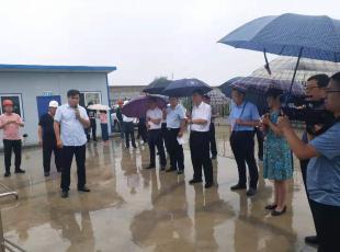市委常委、副市长马瑛莅临开发区人民医院项目进行检查