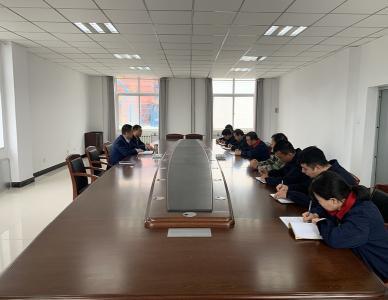 经济发展公司召开冬季供暖启动会议